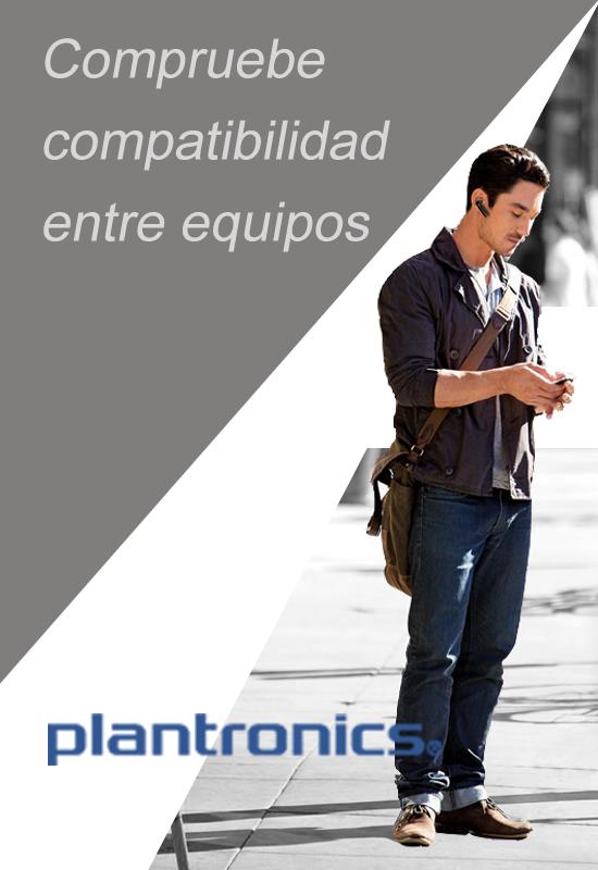 Compruebe compatibilidad entre equipos Plantronics