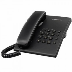 Teléfono analógico KX-TS500 (Negro)