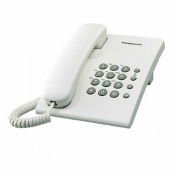 Teléfono Analógico KX-TS500 (Blanco)