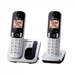 Teléfono dúo KXTGC212 gris