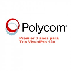 Polycom Premier Three Year Trio VisualPro 12X