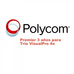 Polycom Premier Three Year Trio VisualPro 4X