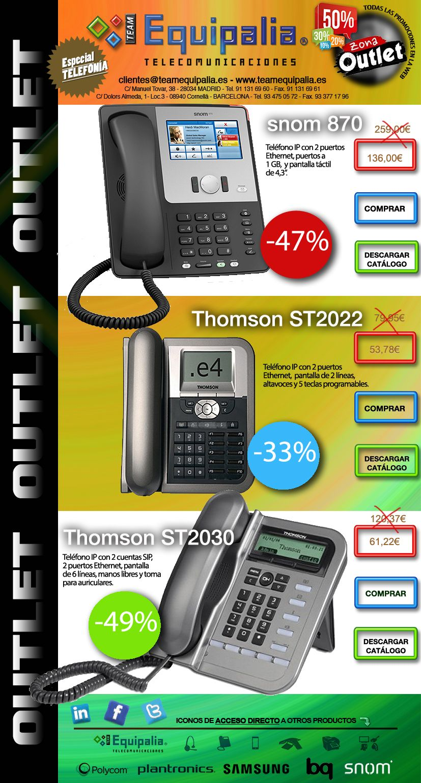 Outlet en TelefonÍa IP